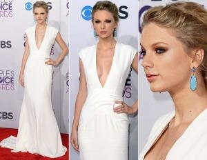 Quer paz em 2015? Faça como Taylor Swift e aposte no branco! Linda como sempre essa boneca!